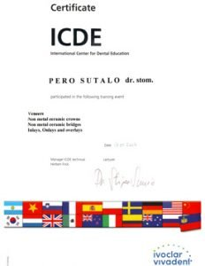 ICDE-Certificate