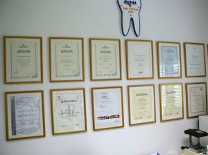 Dental Certificates